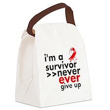 I am a Survivor MDS Canvas Lunch Bag