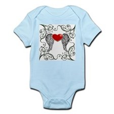 Winged Heart Infant Bodysuit