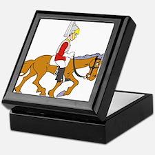Horseman Keepsake Box