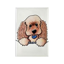 ASCOB Cocker Spaniel Rectangle Magnet
