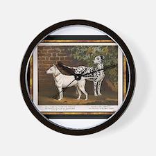 Antique Dalmatian Wall Clock