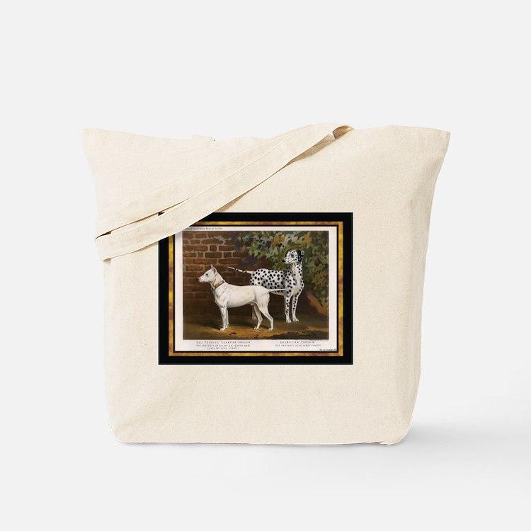 Antique Dalmatian Tote Bag