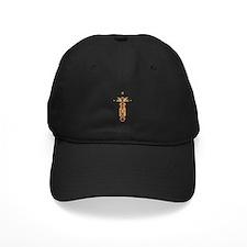 Ornate Christian Cross Baseball Hat