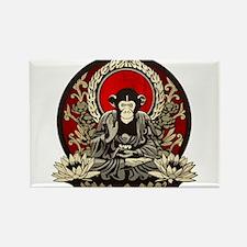 Zen Chimp Rectangle Magnet (100 pack)