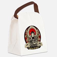 Zen Chimp Canvas Lunch Bag