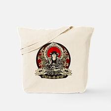 Zen Chimp Tote Bag