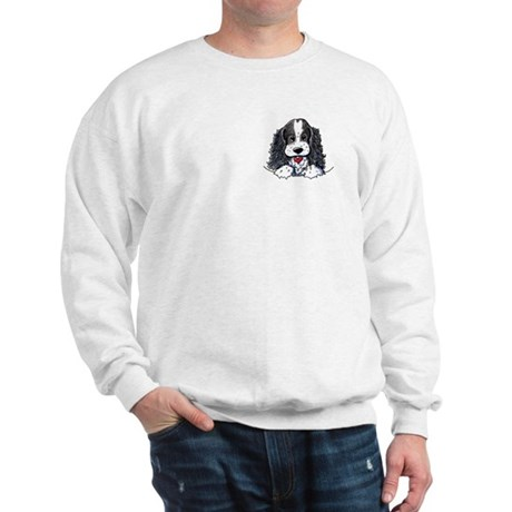 KiniArt Parti Cocker Sweatshirt