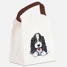 KiniArt Parti Cocker Canvas Lunch Bag