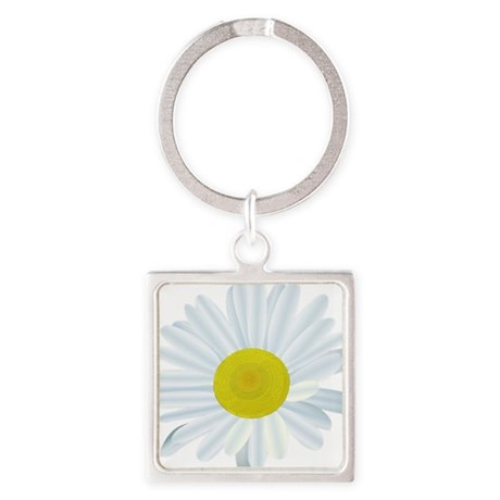 Daisy, Daisy Square Keychain
