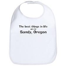 Sandy: Best Things Bib