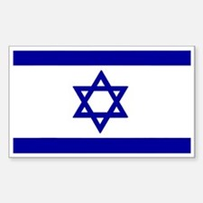 Israel Rectangle Decal