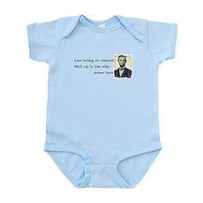Quotable Abraham Lincoln Infant Bodysuit