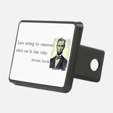 Quotable Abraham Lincoln Hitch Cover