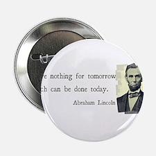 "Quotable Abraham Lincoln 2.25"" Button"