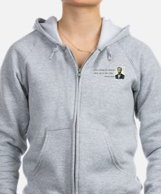 Quotable Abraham Lincoln Zip Hoodie