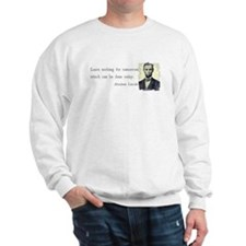 Quotable Abraham Lincoln Sweatshirt