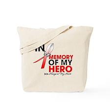 In Memory Hero MDS Tote Bag