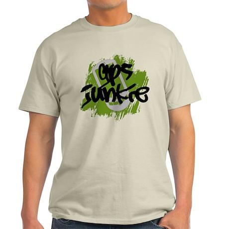 GPS Junkie Light T-Shirt