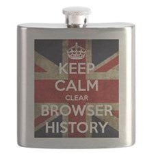 Keep Calm Clear Browser History Flask