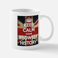 Keep Calm Clear Browser History Mug