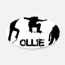 Ollie.png Oval Car Magnet