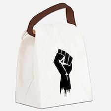 Rough Fist Canvas Lunch Bag