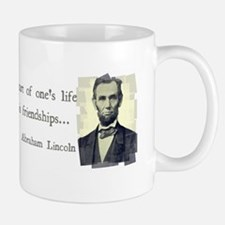 quotable Abe Lincoln Mug