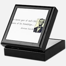 quotable Abe Lincoln Keepsake Box