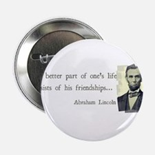 "quotable Abe Lincoln 2.25"" Button"
