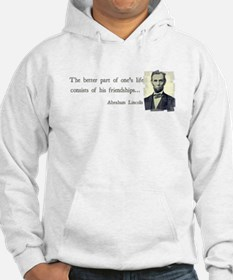 quotable Abe Lincoln Hoodie