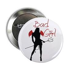 "Bad Girl Devil 2.25"" Button"