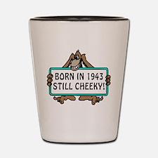 1943, 70th Birthday Shot Glass