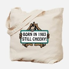 1983, 30th Birthday Tote Bag
