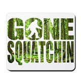 Squatch in the woods Classic Mousepad