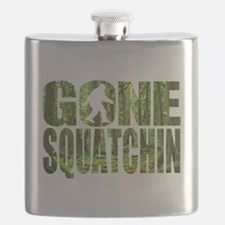 Gone Squatchin *Special Deep Forest Edition* Flask