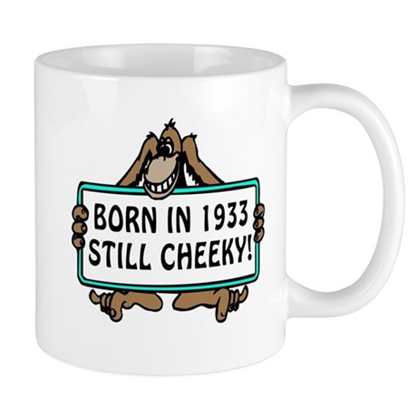 1933, 80th Birthday Mug
