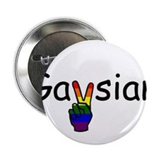 "Gaysian 2.25"" Button"