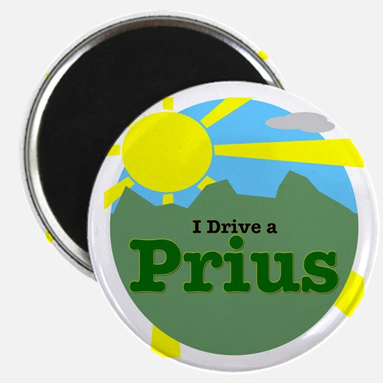 """I Drive a Prius - 2.25"""" Magnet (10 pack)"""