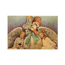 Vintage Mother Goose Magnets