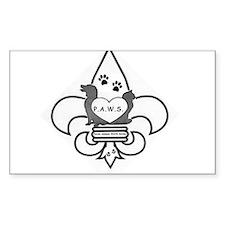 Paws Logo Decal