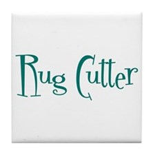 Rug Cutter Tile Coaster