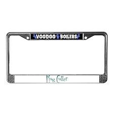 Rug Cutter License Plate Frame