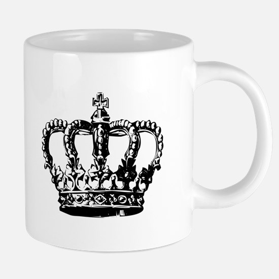 Black Crown Mugs