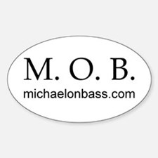 MOB Oval Decal