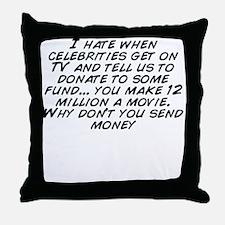 Send Throw Pillow