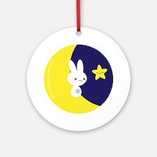 Moonbunny Ornament (Round)