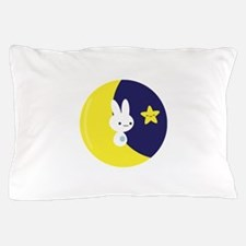 Moonbunny Pillow Case