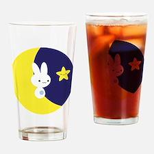 Moonbunny Drinking Glass