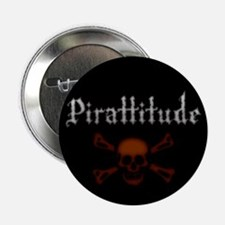 "Pirate Attitude Pirattitude 2.25"" Button (100 pack"