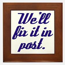 Fix it in Post Framed Tile
